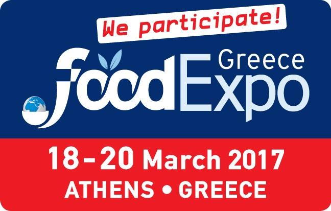 Συμμετέχουμε στην Food Expo 2017!