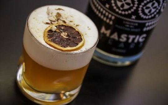 Hale Bopp Warm Cocktail