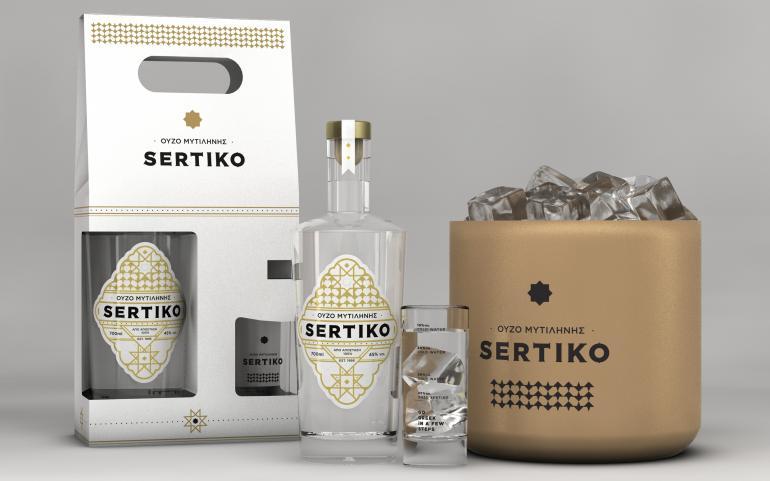 """""""Go Greek"""".. with OUZO SERTIKO!"""